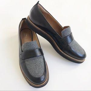 Clarks Artisan Glick Avalee Loafer Gray Black 9.5